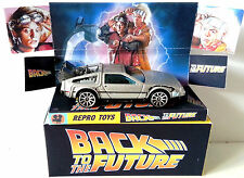 Hot Wheels BACK TO THE FUTURE 1981 DeLOREAN DMC-12 Model + Custom Box & Display
