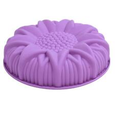 Sunflower Mold Silicone Chocolate Cake Baking Mould Decorating Bakeware Tools LG