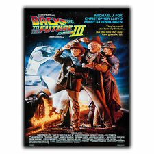 BACK TO THE FUTURE III 3 METAL SIGN WALL PLAQUE Film Movie Advert poster mancave