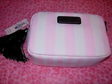 Victoria's Secret Black Crossbody Bag Clutch With Strap NEW!! $42.00 Gift WOW