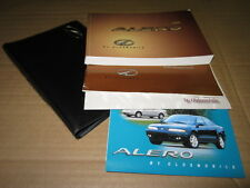 1999 OLDS ALERO OWNERS MANUAL - J1623