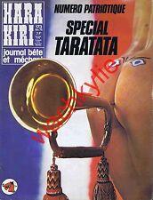 Hara Kiri n°173 du 02/1976 Trompette Fausses pubs Kleenex Ripolin