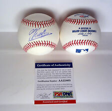 GARRY KASPAROV CHESS GRANDMASTER SIGNED AUTOGRAPH MLB BASEBALL PSA/DNA COA