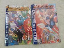 Lot of 2 comics Tales of the Marvels Wonder Years #1-2 Marvel Abnett Lanning