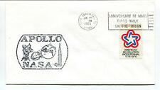 1971 Apollo NASA Anniversary of Mans First Walk on The Moon Florida Space Cover
