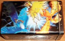 POKEMON BOITE METALLIQUE de 2004 COLLECTOR ATICUNO MOLTRES ZAPDOS (cm13x7.5X5.5)