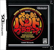 Used Nintendo DS Daigasso! Band Brothers Japan Import (Free Shipping)