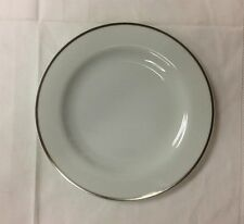 "ROSENTHAL ""MOON PLATINUM"" BREAD/BUTTER 7 1/4"" STUDIO LINE PORCELAIN NEW GERMANY"