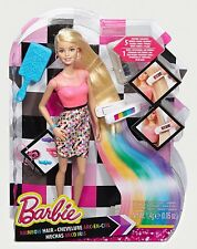 Barbie Rainbow Makeover Hair Doll  Rain Colour Dye Hairdresser GIFT IDEA NEW
