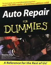 Auto Repair for Dummies by Deanna Sclar 1999