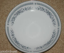 LOT OF 4 NORLEANS JAPAN FINE CHINA SOUP CEREAL BOWLS FANTASY PLATINUM TRIM