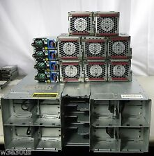 HP Proliant S6500 614167-B21 4x 1200W 94% PSU 8x Redundant Fan Rails 617856-B21