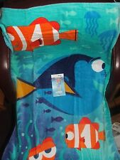 Disney Beach Bath Towel Finding Dory Nemo NWT 58 X 28 INCH GREAT FOR POOL/BEACH