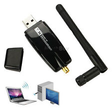 300Mbps USB Wireless Adapter WiFi Lan Network Card IEEE 802.11b/g/n Antenna NEW