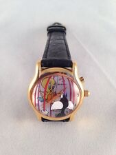 TWEETY BIRD SYLVESTER THE CAT WATCH ARMITRON 3D MUSICAL WATCH COLLECTIBLE ITEM