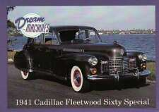 1941 Cadillac Fleetwood Sixty Special, Dream Machines, Cars, Card - Not Postcard