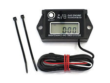 Digital Tachometer / Hour Meter for Lawn & Garden Tractors, Mowers & Zero Turns!