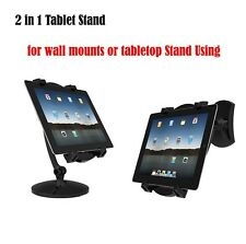 "2in1 Portable Univerdal Tablet Stand Wall Mount Holder for 7""-11"" E-reader iPad"