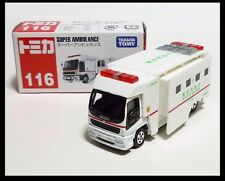TOMICA #116 SUPER AMBULANCE Fire Department TOMY Diecast Car