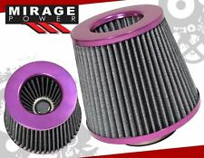 "TURBO / SUPERCHARGER 3"" HIGH FLOW WASHABLE AIR FILTER PURPLE IMPREZA WRX STI"