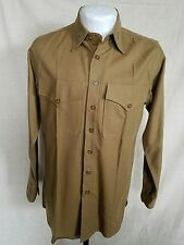 WW2, WWII U.S. Marine Corp officers shirt with colonels insignia