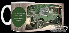 Land Rover Ceramic Mug  Ideal Fathers Day/ Christmas/B'Day Gift