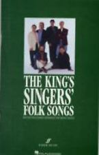 The King's Singers' Folk Songs (Collection) (Book & CD)