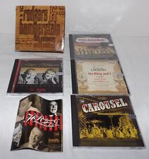 4-CD Set RODGERS & HAMMERSTEIN 50th Anniversary Collection - Oklahoma Carousel &