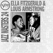 Ella Fitzgerald & Louis Armstrong : Jazz Masters 24 (CD)