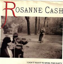 CASH, Rosanne  (I Don't Want 2 Spoil Party) Col 38-68599 = PICTURE SLEEVE ONLY!!