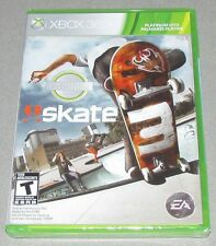 Skate 3 for Xbox 360 Brand New! Factory Sealed!
