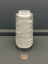 100G SILVER GREY 2/80NM 100% VERY FINE SILK YARN SILVER
