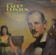 "LARRY CLINTON - THIS IS LARRY CLINTON  12"" 2 LP (P464)"