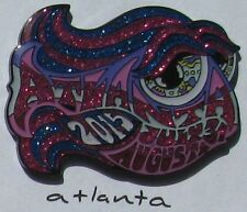 2015 phish ATLANTA happy fish pin by kerrigan (edition of 100)