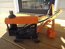 Old Vtg Antique Pressed Steel Steam Shovel Construction Truck Toy