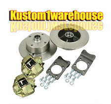 Bolt on Super Beetle front disc brake conversion kit 4 on 130 for VW Volkswagen
