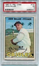 1967 OPC O-Pee-Chee 141 John Miller PSA 5 Excellent EX Low Pop 1 only 3 higher