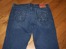 WOMENS LUCKY BRAND SHEEVA SWEET N LOW DENIM JEANS WAIST 30 LENGTH 32
