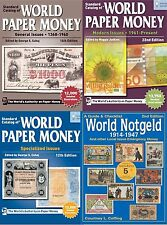2017 Catalogs of World Paper Money 1368 - Present + World Notgeld 1914-1947