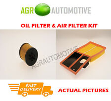 PETROL SERVICE KIT OIL AIR FILTER FOR SKODA ROOMSTER SCOUT 1.6 105 BHP 2006-10