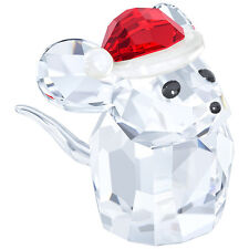 Swarovski 5135858 Christmas Mouse with Santa's Hat Authentic, New