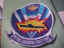 PATROL SQUADRON THIRTY-ONE MILITARY PATCH EMBROIDED 5 1/4 IN SEW OR IRON # S-21