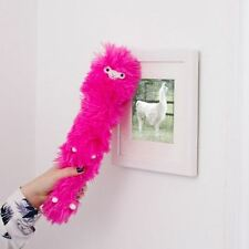 Llama Feather Duster Static Novelty Desktop Furniture Cleaning Pet Pink