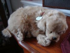 Perfect Petzzz Golden Retriever Simulated Breathing Plush Puppy Dog