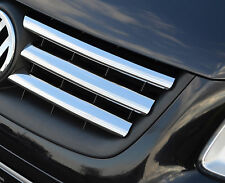 CHROME FRONT GRILLE ACCENTS TRIM SET 6PC FOR VW VOLKSWAGEN CADDY 2004-09