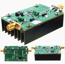 1MHz--500MHZ 1.5W HF FM VHF UHF RF Power Amplifier for ham radio with Heatsink