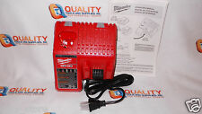 *New* Milwaukee 48-59-1812 M12 12V & M18 18V Lithium-Ion Dual Battery Charger