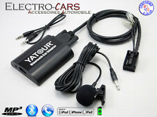 BLUETOOTH INTERFACE AUXILIAIRE MP3 AUTORADIO COMPATIBLE PEUGEOT EXPERT