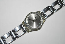 2001 Swatch Lady Watch LM-119 SILVER COBBLES Fall Winter FREE Shipping  Battery