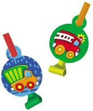 Fire Truck Birthday Party Blowouts 16 Count Dump Trucks Favors
